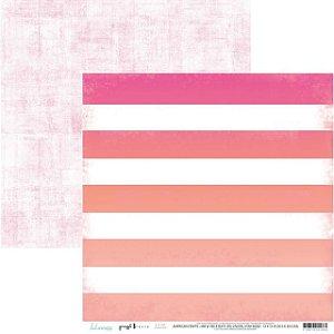 Papel para scrapbook - 30x30 - Dupla Face - Cabana - Heidi Swapp - American Crafts