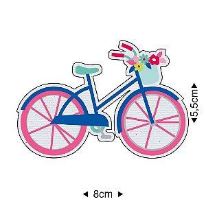 Aplique em MDF Bicicleta Je t`aime APM8-1213 - Litoarte