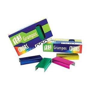 Caixa de grampos nº10 coloridos - Yes Brasil