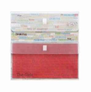 Envelope Duplo-Fecho em Velcro p/ Scrapbook-Transparente - Yes Brasil