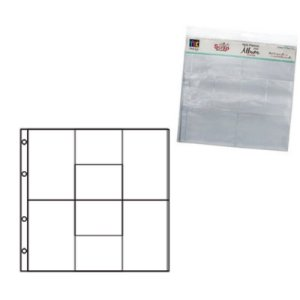 Refil plástico para álbum grande TEC - Design D - Toke e Crie