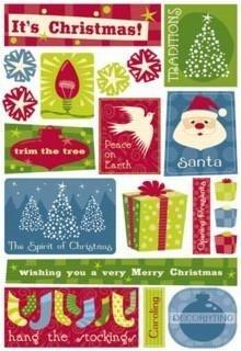 Adesivo natal - Christmas Fun - Karen Foster