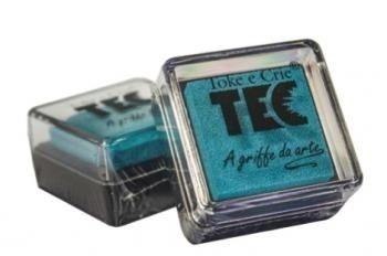 Almofada para carimbo Azul - Toke e Crie