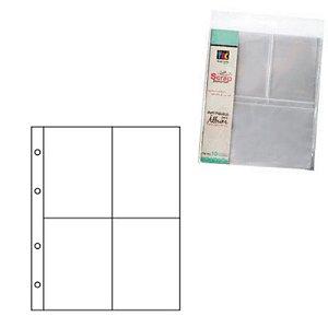Refil plástico para álbum pequeno Scrap Momentos - Design 4 - Toke e Crie