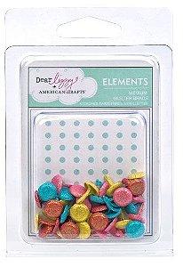 Bailarinas com glitter - Dear Lizzy - 85506 - American Crafts