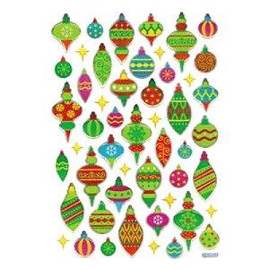 Adesivo Cristal com Brilho - Bolas de Natal - Toke e Crie