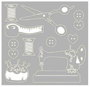 Cartela chipboard Costura SCEP-29 - Litoarte