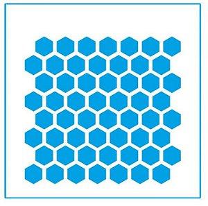 Stencil STX-033 - Colmeia - Litoarte
