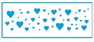 Stencil STP-101 - Corações - Litoarte