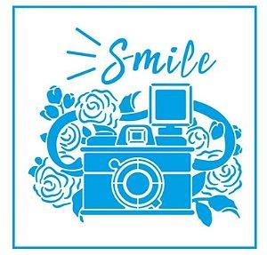 Stencil STXX-141 - Câmera fotográfica - Litoarte