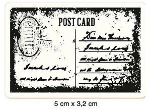 Carimbo Cartão Postal CLP-058 - Litoarte