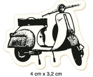 Carimbo Vespa CLP-062 - Litoarte