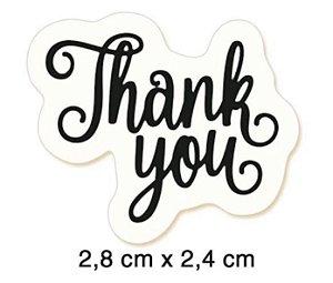 Carimbo Thank you CLP-111 - Litoarte