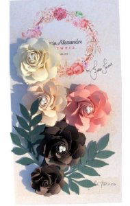 Flores artesanais - Fabi Torres - Torta Holandesa - Márcia Alexandre