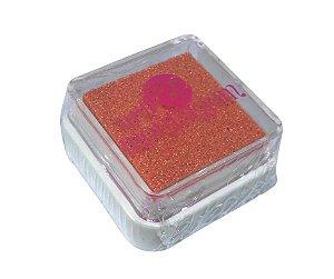 Almofada mini carimbeira Laranja Perolada INK004-6 - Art Montagem