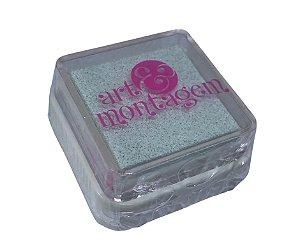 Almofada mini carimbeira Branca INK002-1 - Art Montagem