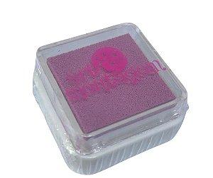 Almofada mini carimbeira Rosa INK002-10 - Art Montagem