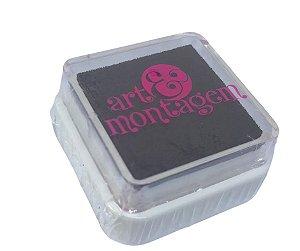Almofada mini carimbeira  Marrom INK002-4 - Art Montagem