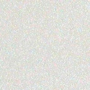 Papel  puro glitter  - Branco - White - American Crafts