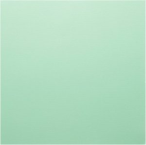 Cardstock - Papel de Scrapbook 30,5x30,5 cm - Verde água - American Crafts