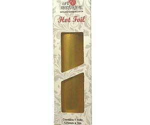 Rolo de Foil cor Dourado - Art & Montagem
