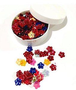 Kit Paetê formato flor - Importado