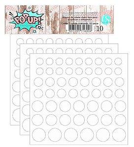 Pop-up adesivo de volume - 140 peças - Carina Sartor
