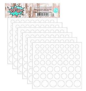 Pop-up adesivo de volume - 280 peças - Carina Sartor