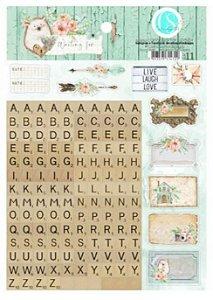 Adesivos com alfabeto Waiting For - Carina Sartor