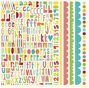 Adesivos 30x30 Sweet Summertime - Echo Park