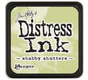 Carimbeira Distress Ink - Shabby Shutters  - Ranger