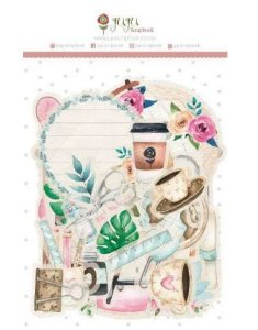 Die cuts - Quarentena Criativa - Juju Scrapbook