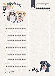 Miolo permanente para agenda My Dog - Cachorros - My Memories Crafts
