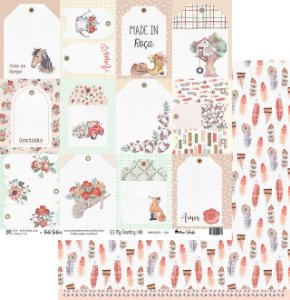 Papel de scrapbok My Country Life 4 - My Memories Crafts
