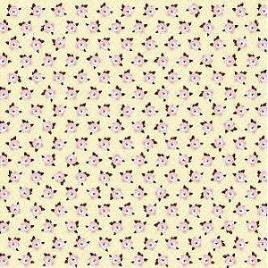 Tecido adesivado - Magnolia Morning - Fabric Finish - American Crafts