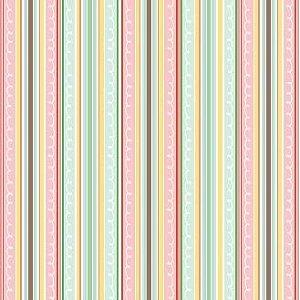 Tecido adesivado - Snapdragon Soiree - Fabric Finish   - American Crafts