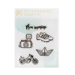 Carimbos Meu menino - My Memories Crafts
