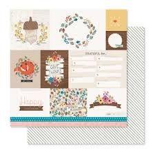 Papel Scrapbook - Cedar Lane - Market Square - Pink Paislee
