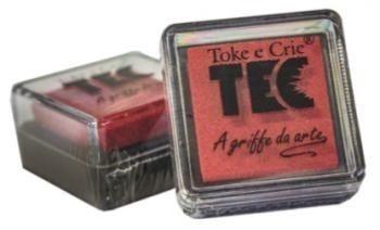 Almofada para carimbo Vermelho- Toke e Crie