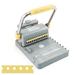 Encadernadora furo quadrado Amarela - The Cinch - We R