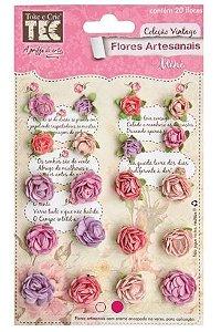 Flores artesanais Mini - Lavanda - Toke e Crie