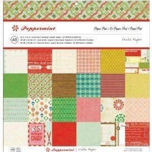 Bloco de papéis Peppermint - Crate Paper