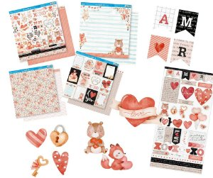 Kit completo coleção Amor Aquarela - Litoarte
