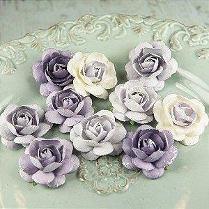 Flores artesanais Angelica Rose - Prima