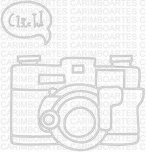 Carimbo com base emborrachada -  Máquina fotogrática