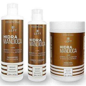 Mini Pack de Tratamento Hidra Mandioca Essenciale (3 itens)
