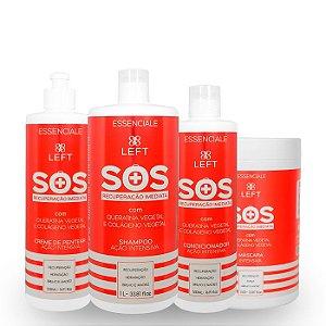 Kit SOS Recuperação Imediata Essenciale (4 itens)