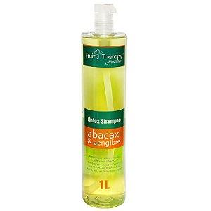 Shampoo Detox Abacaxi e Gengibre Fruit Therapy 1L