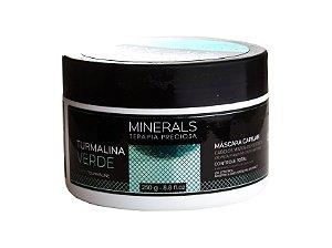 Máscara Minerals Turmalina Verde 250g Cabelos Mistos ou Oleosos