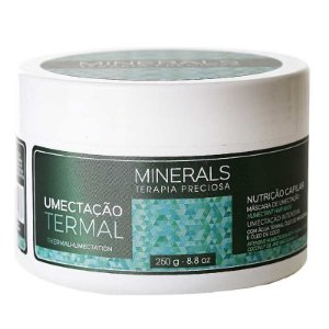 Umectação Termal Máscara de Nutrição Minerals 250g